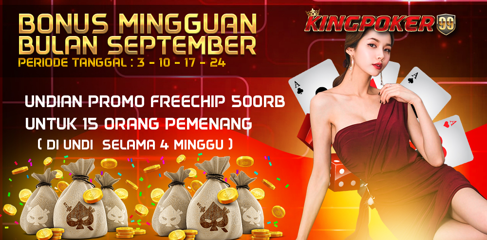 PROMO KINGPOKER SEPTEMBER