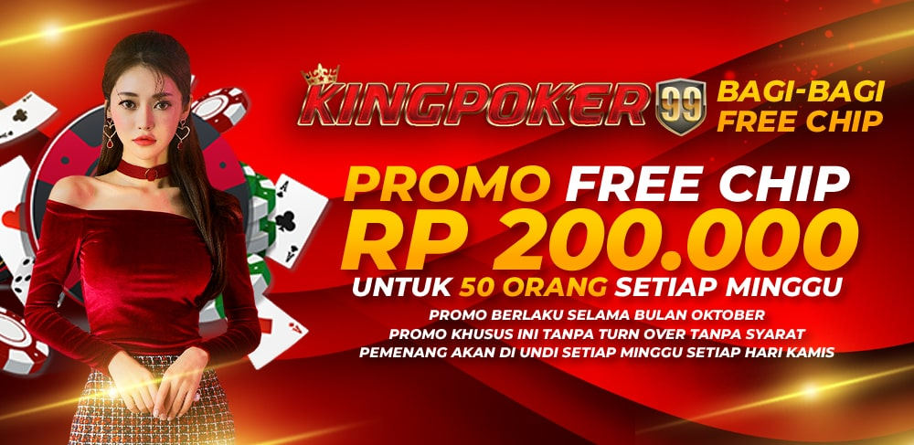 PROMO BULAN OCTOBER KINGPOKER99